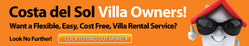 Costa del Sol villa owners! Want a flexible, easy, cost free, villa rentals service? Click to find out more