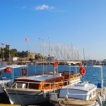 Bodrum - showing the many boats and yachts available for boat trips