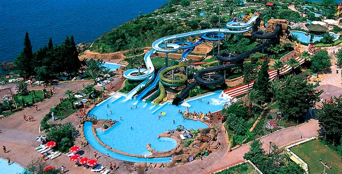 Dedeman Aquapark Aerial View