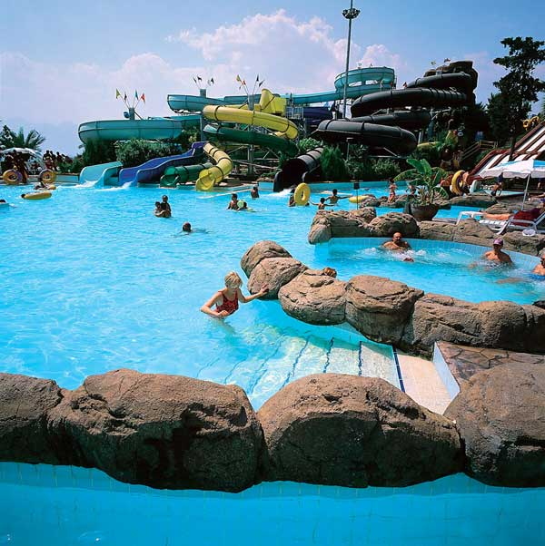 Dedeman Aquapark (Ortakent Waterpark) on the Bodrum Peninsula