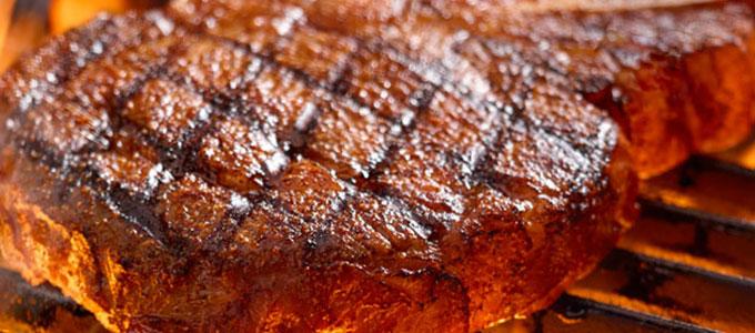 Tender steak grilled to your taste