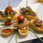Many Bars and Cafes in Mijas serving traditional Spanish Tapas