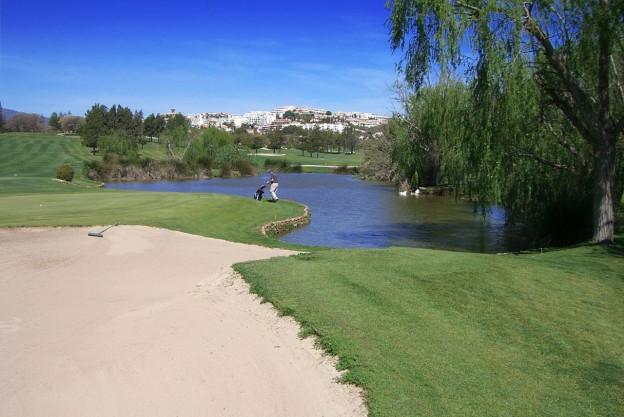 One of the many Golf Courses in Mijas,Costa del Sol