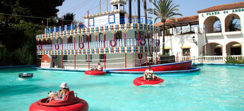 Bumper Boats at Tivoli World
