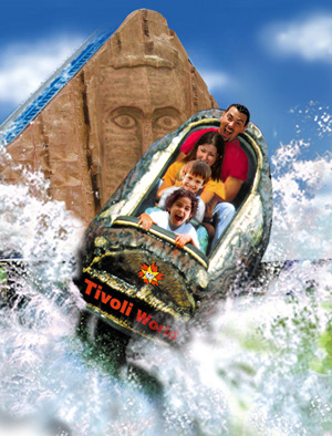 Tivoli World in Benalmadena with its Many Rides and Attractions
