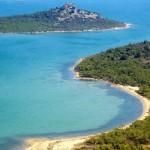Turkey showing the beautiful Aegean Sea and Coastline