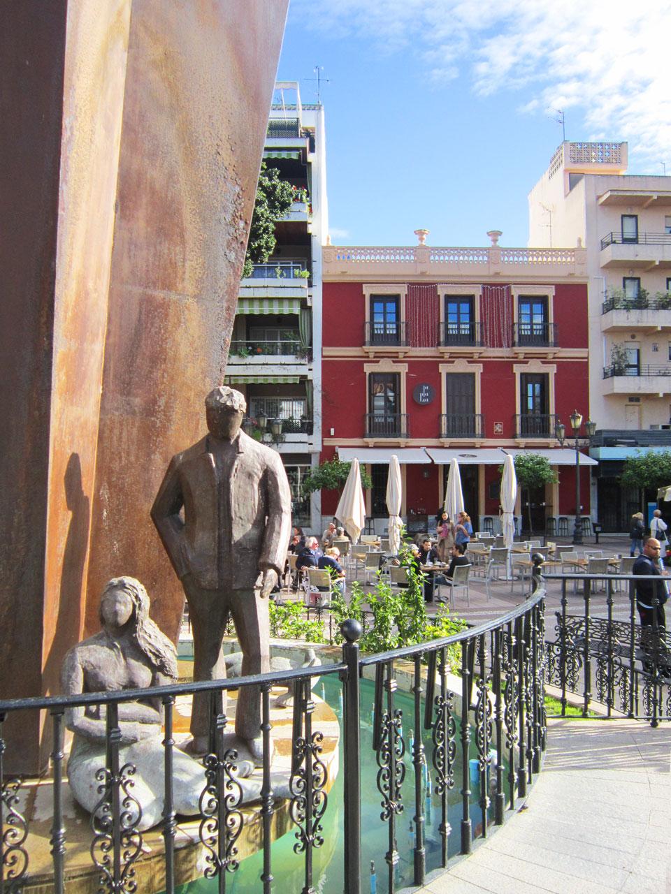Fuengirola Plaza de la Constitution