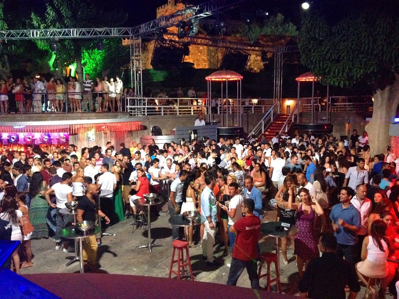 Hadigari Bar and Nightclub in Bodrum