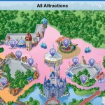 Magic Kingdom GPS Maps iPhone Screenshot