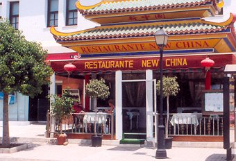 New China Restaurant in Mijas, Costa del Sol