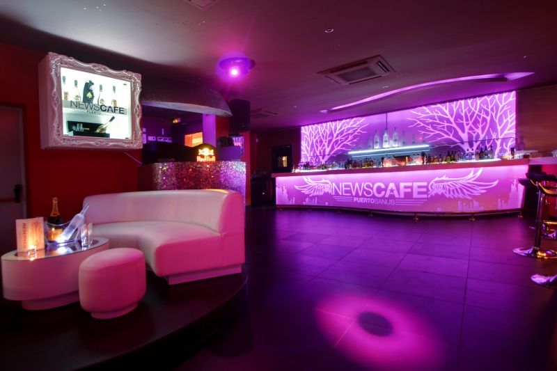 News Cafe in Puerto Banus, offering the very best in funky house and R&B