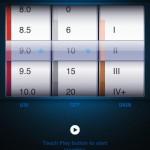 Sunscreen App setting for UV, SPF and Skin Type