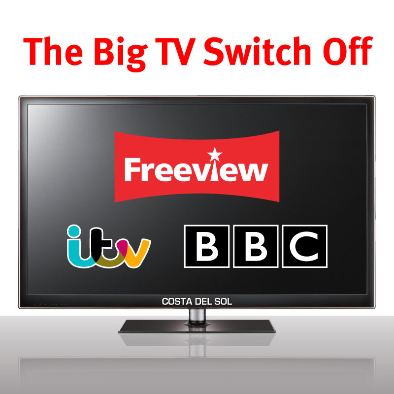 The Big TV Switch Off: Losing Freeview, ITV and BBC channels on the Costa del Sol