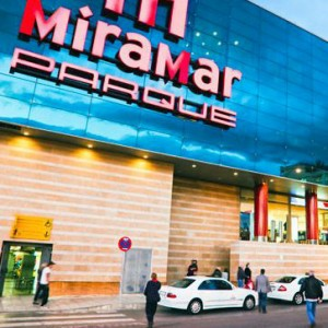 Fuengirola Miramar Shopping Centre in Spain