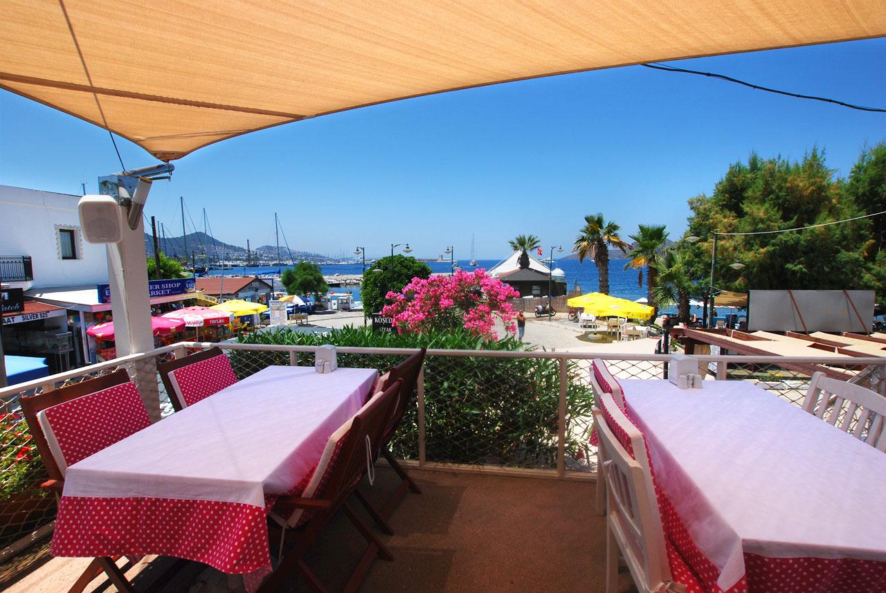 Kösede Restaurant boasts fantastic panoramic sea views