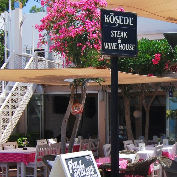 Kosede Restaurant in Yalikavak, Turkey