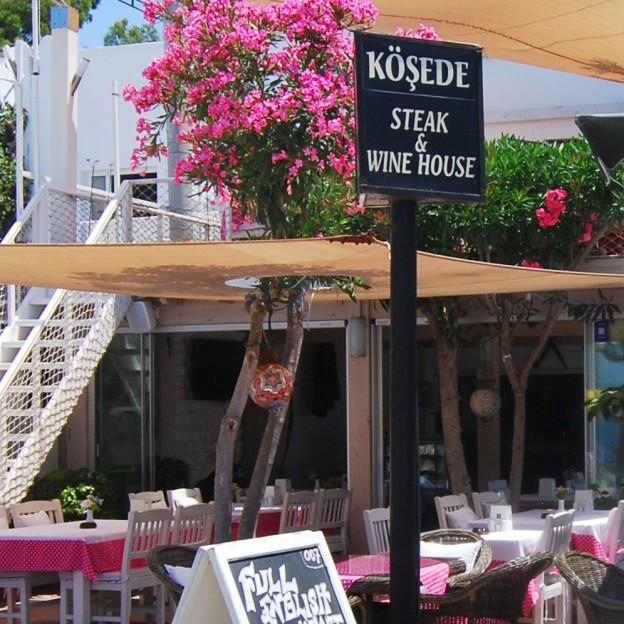 Kosede Restaurant in Yalikavak, Turkey