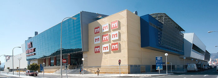 Miramar Shopping Centre in Fuengirola, Spain