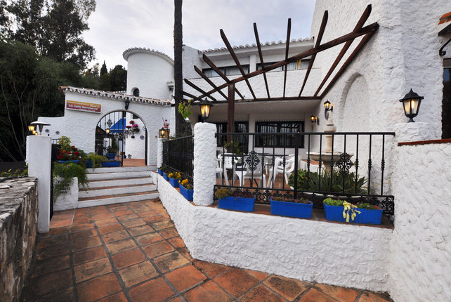 La Luna Restaurant in Campo Mijas, Costa del Sol