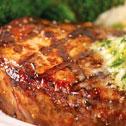 La Luna Restaurant in Campo Mijas, a juicy well cooked steak
