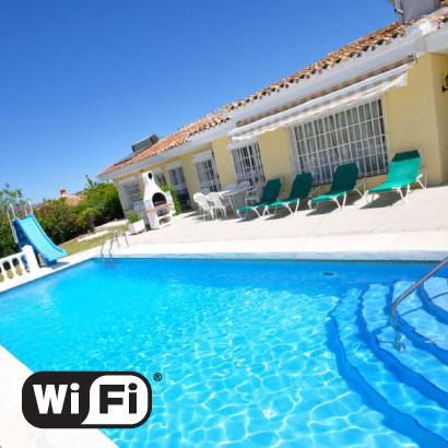 Villa Sonja with WiFi Blue internet access