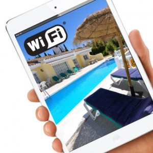 WiFi internet access while on holiday