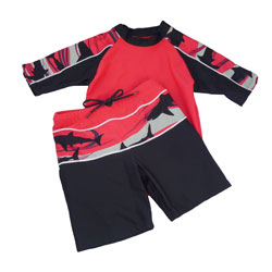 Red Shark UV Suit