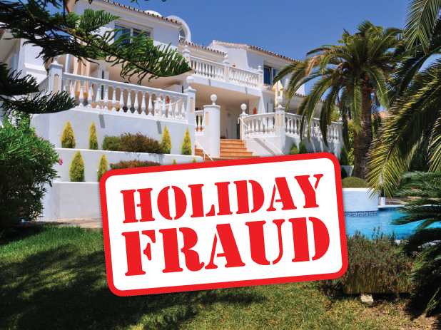 Be aware of fake property owners and holiday fraud when booking through 'direct to owner' websites