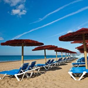 Marbella Beach on the Costa del Sol