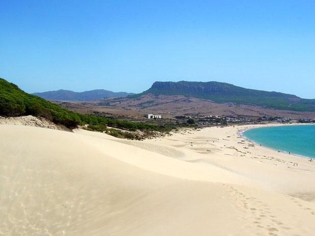 Playa de Bolonia Beach in Tarifa - photo courtesy of www.cadizturismo.com
