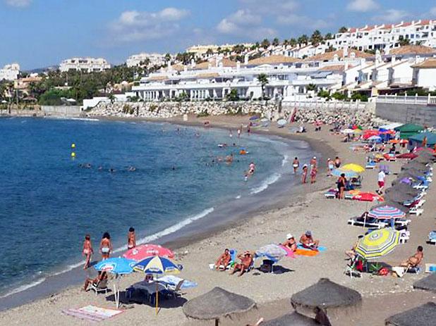 Playa El Charcon Beach located just West of El Faro