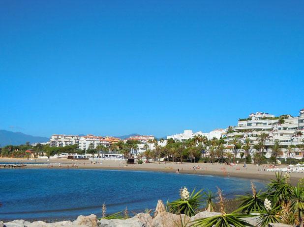 Puerto Banus Beach, Marbella