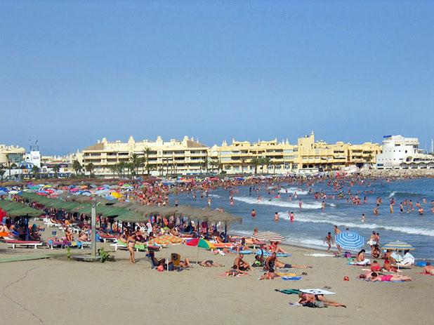 Santa Ana Beach, Benalmadena