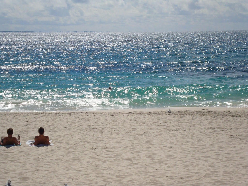 Cottesloe Beach, enjoying the stunning views and turquoise sea