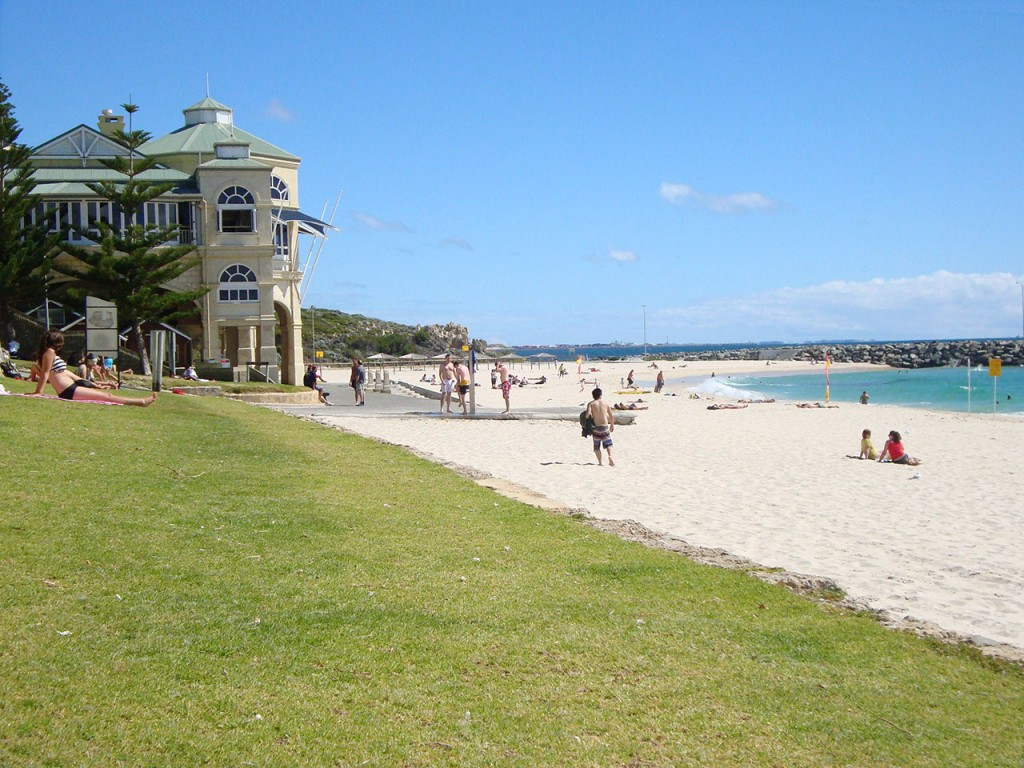 Cottesloe Beach, 15 minutes outside Perth in Western Austria
