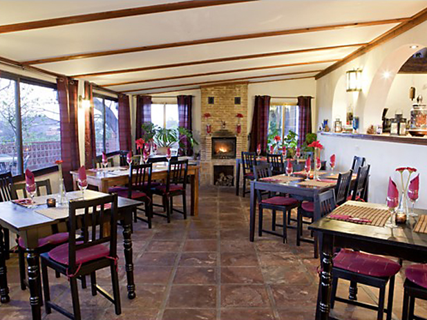 Finca la Mota Restaurant serves delicious international cuisine using flavours from around the world