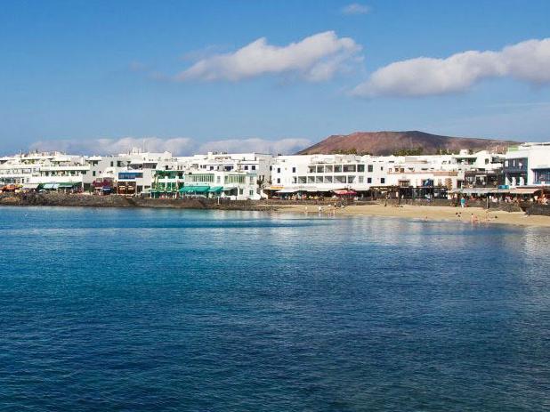 Playa Blanca in Lanzarote with its warm temperatures makes a fantastic Christmas destination