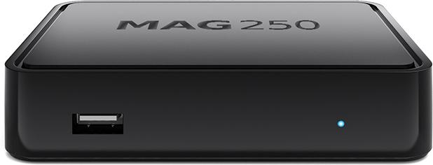 The MAG250 IPTV set top box