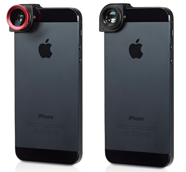 Olloclip Quick Connect Fisheye, Wide-Angle and Macro Lenses for the iPhone 5 and 5s