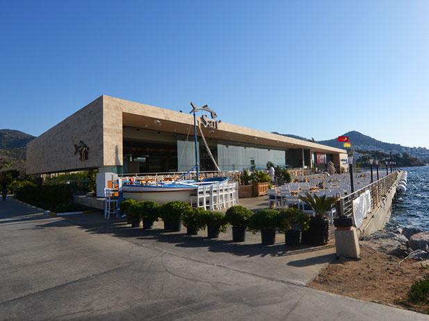Sait Fish Restaurant on the new Palmarina