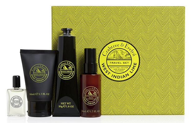 Crabtree & Evelyn Men's West Indian Lime Traveller Gift set, £22