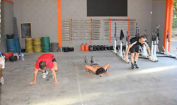 The 'On Ramp' 6x1 hour courses teach all the basic CrossFit movements