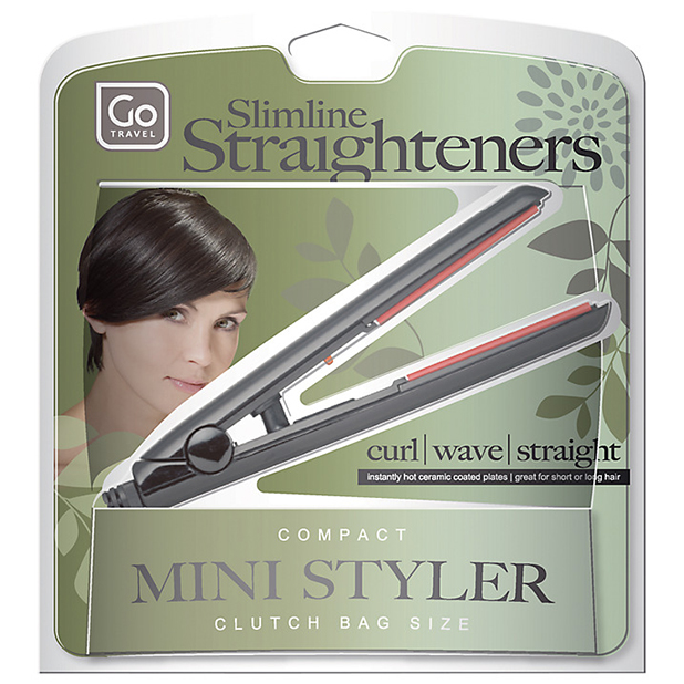 Go Travel Slimeline Straighteners, £19.99