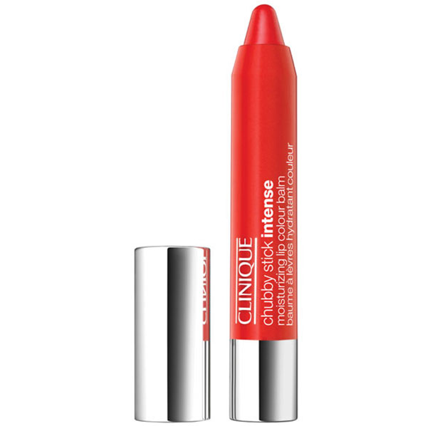A Bright Lip Colour – Clinique Chubby Stick Intense in Heftiest Hibiscus, £16
