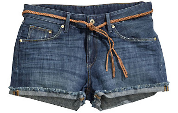 Denim shorts are a great look and are perfect for the day or evening