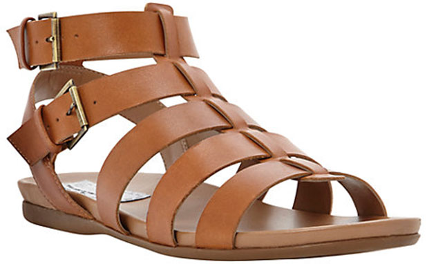 Gladiator sandals by Bertie available in gold, white or tan