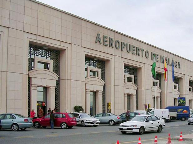 Malaga Airport in Spain