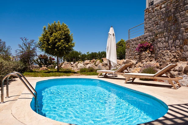 Luxury 2 bed holiday villa in the Award Winning Aegean Hills Resort in Yalikavak, Turkey
