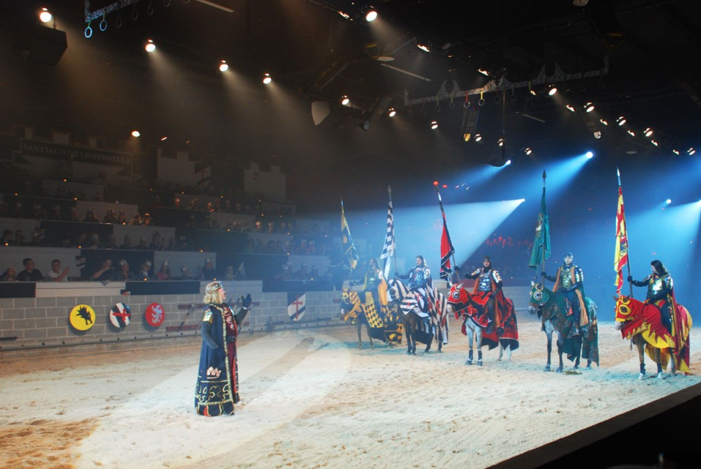 Medieval Times Dinner and Show where you can enjoy a royal feast