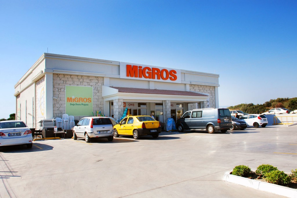 Migros Supermarket located just opposite the Turquoise Resort